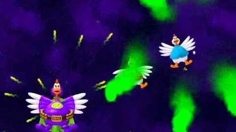 Chicken Invaders 4 All Bosses (Final Boss) ENDING