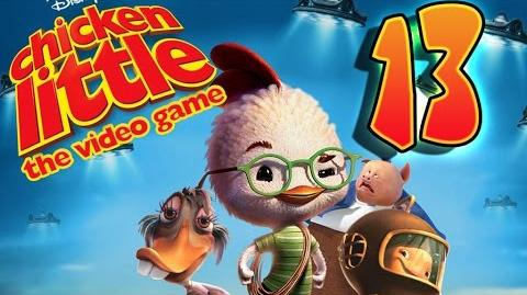 Disney's Chicken Little Walkthrough Part 13 (PS2, XBOX, PC, Gamecube)