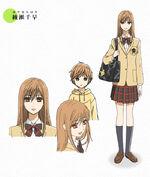 Chihaya's appearance