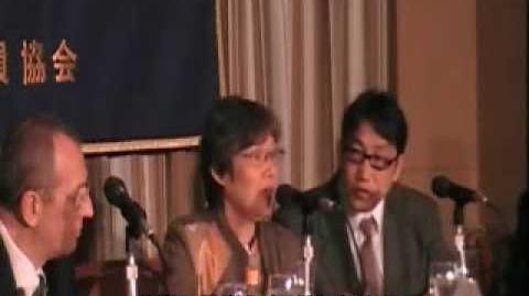 共同親権導入へ向けた簡単な民法改正案、後藤富士子弁護士FCCJ会見