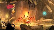 Огненный паук-бомбардир