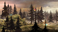 Опушка леса Матильды