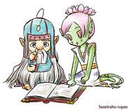 Джен и Финн от Samiraho-topaz