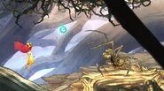 Бомбардир в Дереве с шипами