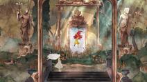Аврора входит в зеркало