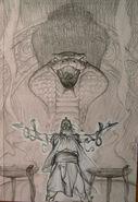 Cobra king cover sketch