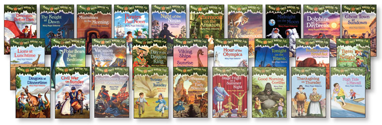 Image result for the magic tree house series