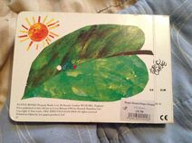 The Very Hungry Caterpillar Back cover