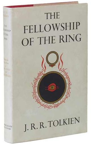 Lord Of The Rings Fellowship Of The Ring Book