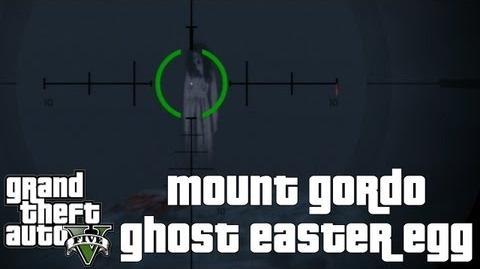 GTA V - Mount Gordo Ghost Easter Egg HD Xbox360 PS3