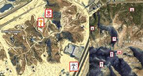 Glyph Locations