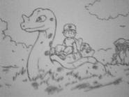 Early Lapras sketch