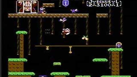 Donkey Kong Jr - NES Gameplay