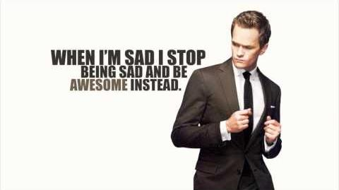 Barney Stinson Nothing Suits Me Like A Suit