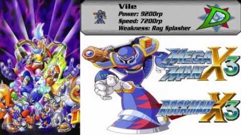 Let's Listen Mega Man X3 (SNES) - Vile Stage Theme (Extended)