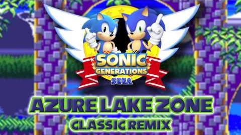 Azure Lake Zone Classic - Sonic Generations Remix