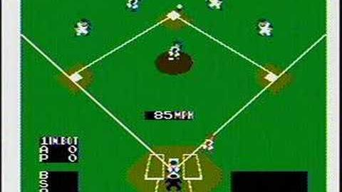 Baseball - NES Gameplay