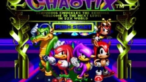 Let's Play Knuckles Chaotix! (Part 1)