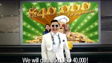 Gentleman Psy Go! Bibigo!
