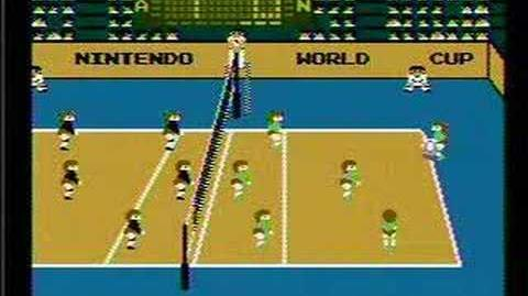 Volleyball - NES Gameplay