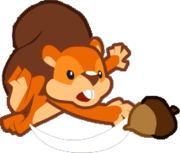 Angry Squirell Icon