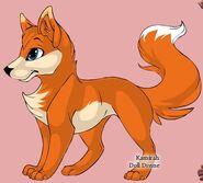 Conker as a fox