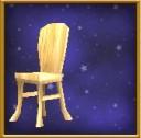 簡樸的木椅