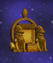 家具-黄金龙王座