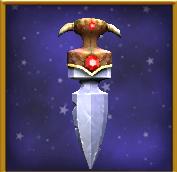 A-暗红色的熊爪-匕首