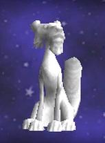 家具-火猫雕像
