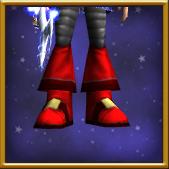 X-熏烧灰烬便鞋-男