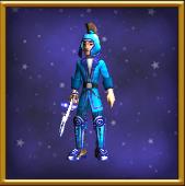 B-悲雪罩衫-男