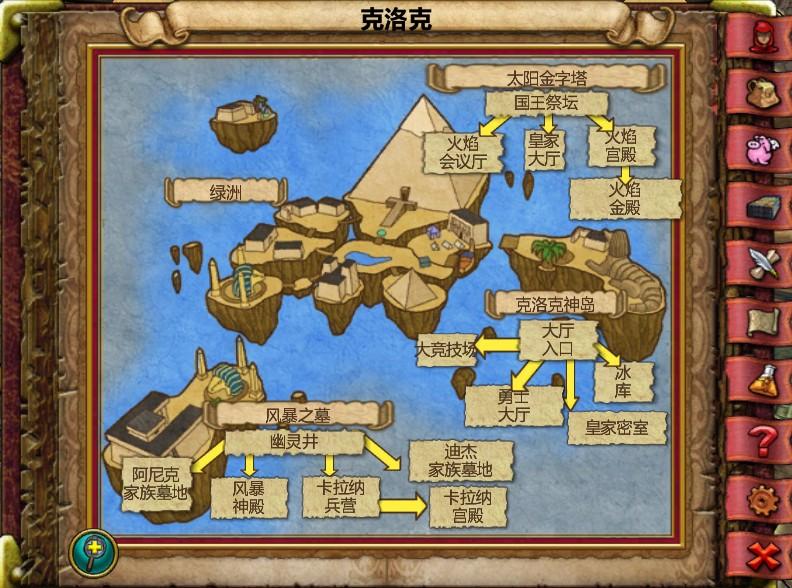 克洛克地图