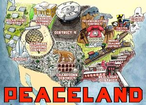 Peaceland Map (The Hunger Pains)