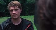 Peeta telling Katniss to kill him