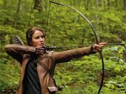 Katniss in the woods