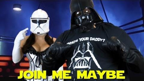 Call Me Maybe Parody By Darth Vader