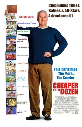 Chipmunks Tunes Babies & All-Stars' Adventures of Cheaper by the Dozen