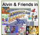 Alvin & Friends in The Adventures of the American Rabbit