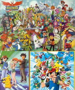 Digimon & Pokemon