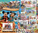 Chipmunks Tunes Babies & All-Stars' Adventures of Beach Party at Walt Disney World