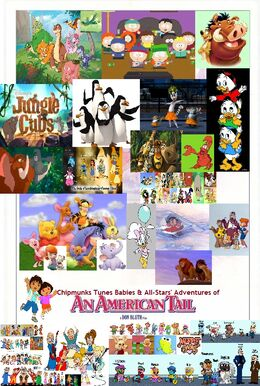 Chipmunks Tunes Babies & All-Stars' Adventures of An American Tail