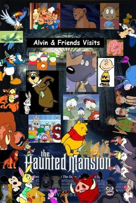 Alvin & Friends Visits The Haunted Mansion
