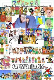 Chipmunks Tunes Babies & All-Stars' Adventures of 101 Dalmatians