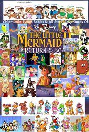 Chipmunks Tunes Babies & All-Stars' Adventures Of The Little Mermaid 2- Return To The Sea