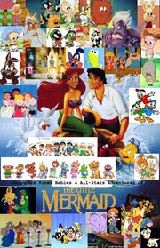 Chipmunks Tunes Babies & All-Stars' Adventures Of The Little Mermaid