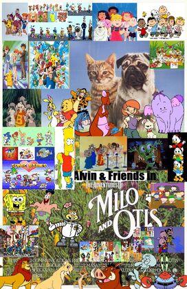 Alvin & Friends in The Adventures of Milo & Otis