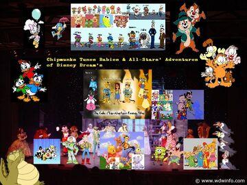 Chipmunks Tunes Babies & All-Stars' Adventures of Disney Dreams