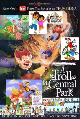 Chipmunks Tunes Babies & All-Stars' Adventures of A Troll Central Park