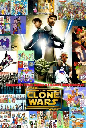 Chipmunks Tunes Babies & All-Stars' Adventures of Star Wars The Clone Wars